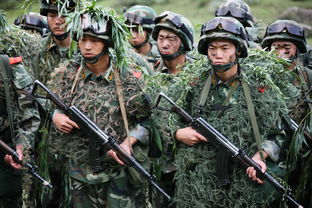实录武警8670部队特战分队六盘山野外生存演练