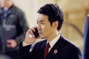 黄俊鹏饰演《人民的名义》中的陈海