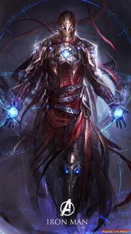 神格化的超级英雄 暗黑风英灵 复仇者联盟2 奥创纪元 Avengers Age of Ultron 画集