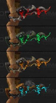 魔兽7.0新增职业神器看个够 风剑为狂徒贼专属