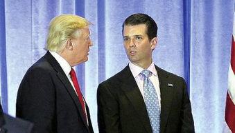 特朗普和儿子小唐纳德·特朗普2017年6月,特朗普宣布美国将退出巴黎气候协定.