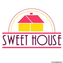 LOGO设计84 Sweet House矢量LOGO免费下载