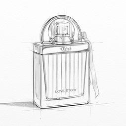 此款典雅香水瓶的玻璃由玻璃吹制工采用白沙的微粒精致融合而成.