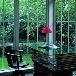 别墅设计师文治国现代美窗打开简单舒适生活