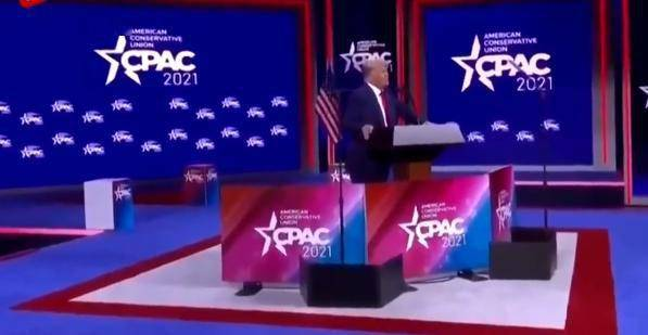 卸任后首次演讲特朗普暗示可能会参加2024年总统大选