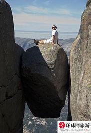 世界著名景点的游客搞怪照片