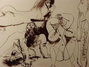 不为人知的毕加索一生钟爱的绘画 情色绘画