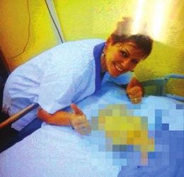 护士谋杀38病人尸体旁开心自拍吓傻同事