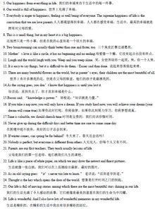 中考英语作文范文万能句型