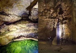 1892年大地震形成的阿布哈兹幽灵鬼洞