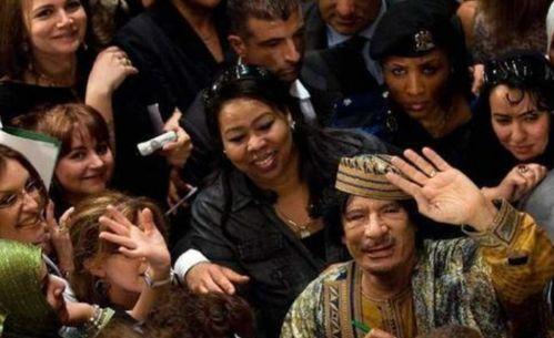 卡扎菲身边保镖个个是美女,除了保护安全外,真正目的出人意料