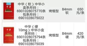 细中华多少钱一条(中华香烟回收多少钱,回收中华香烟价格表)