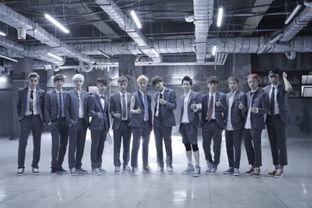 求EXO这一系列的图,全体成员