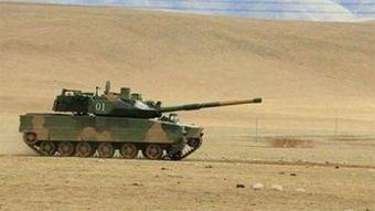 中国新型轻型坦克