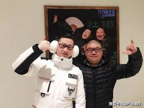 张鹤伦郎鹤炎接下来要说的这两位呢是德云社的创作型人才,张鹤伦郎鹤炎两位老师,小白和大黄的组合.