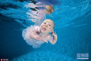 萌娃水下写真大合集 小天使们如鱼得水呆萌可爱