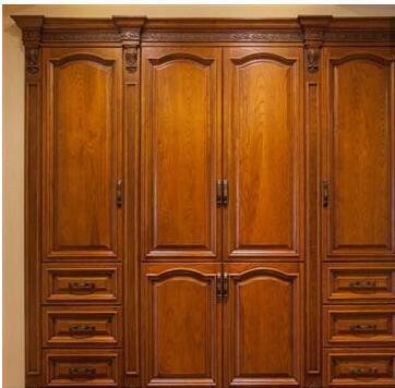 衣柜柜门实木木材