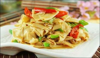 尖椒干豆腐凉拌