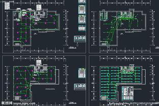 办公楼 电气设计图纸图片
