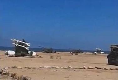 疑似中国dk-9导弹现身摩洛哥