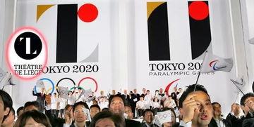 【东京奥运会徽陷入抄袭争议丑闻】令东京奥运遭受挫折的不仅是主会场,还有奥运会徽的抄袭丑闻.图为2015年7月24日公布了2020年东京奥运会和残奥会会徽设计方案.会徽由日本设计师佐野研二郎设计,