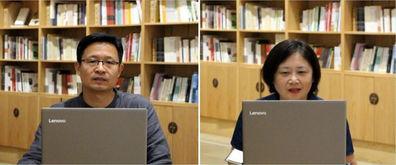 刘守刚主任、周静老师点评与指导