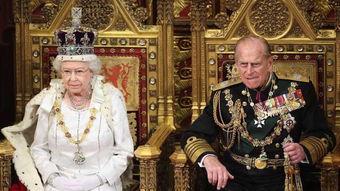 英女王伊丽莎白二世和菲利普亲王。(