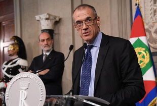 Economist Cottarelli named Italy s PM designate as snap elections draw near