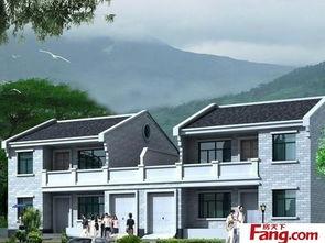 2018农村别墅外墙瓷砖效果图 房天下装修效果图