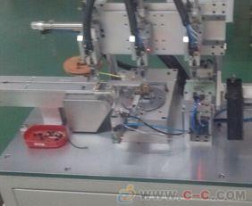 深圳博铧全自动变压器磁芯包胶测试机