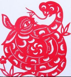 剪纸图案大全 最新的剪纸蛇图片