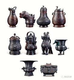 十大国宝青铜器茅台酒全球限量300套.