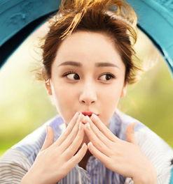杨紫最新写真化身元气少女