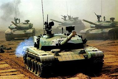 十大坦克第九:中国99式主战坦克