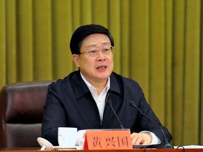 天津市委代理书记、市长黄兴国