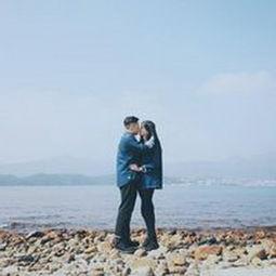 浪漫海边情侣微信头像11