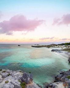 赞美海上小岛的句子