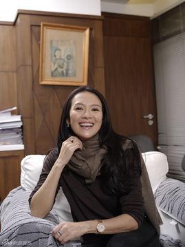 章子怡接受《看电影》杂志专访