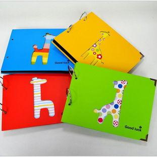 ...文具 镂空小鹿DIY相册 创意手工黑卡角贴相册 BK42图片,韩国文具 ...