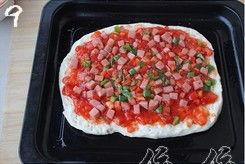 午餐肉披萨的做法大全