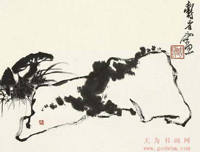 潘天寿作品(潘天寿最贵的画)_1603人推荐
