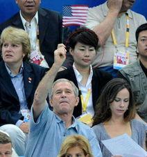 布什在中国的美女保镖