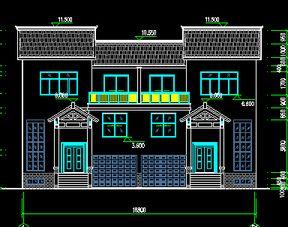 农村住宅建筑设计图纸免费下载 建筑户型平面图