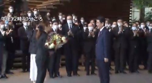 辞任日本首相后,安倍离开首相官邸