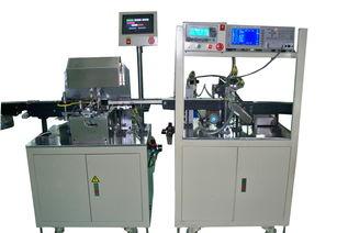 高频变压器全自动包胶测试线 变压器全自动测试机