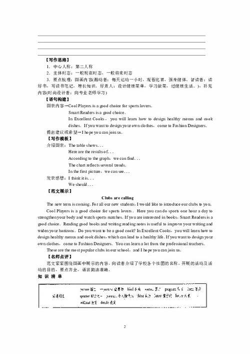 2015福建书面表达英语作文