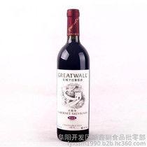 长城红酒价格表(长城葡萄酒优级解佰纳干红多少钱一瓶)