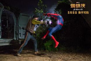 无处安放的荷尔蒙必须用 大场面 彰显, 蜘蛛侠 英雄归来 的 王者级别 太有料