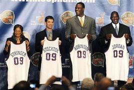 NBA名人堂重新开堂 乔丹等入住
