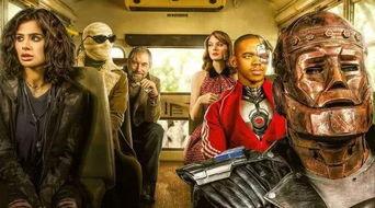 DC高分暗黑美剧,最奇葩超级英雄联盟,堪比神剧 守望者